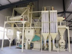3-6tons/hour Feed Pellet Line